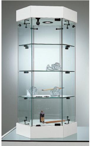 Vetrina esagonale base nova da banco s45 vetrina mod for Negozi per ufficio