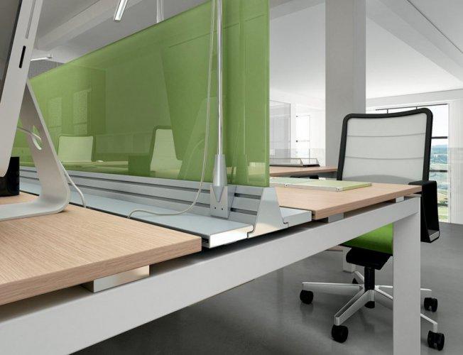 Scrivania mod entity dvo scrivanie operative mobili for Negozi mobili ufficio