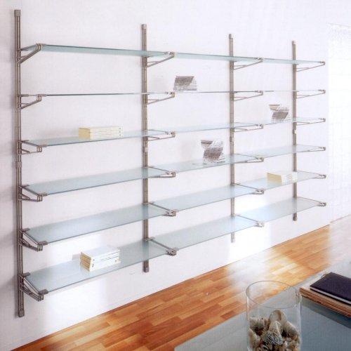 Libreria mod socrate a parete profondit 35 cm for Negozi per ufficio