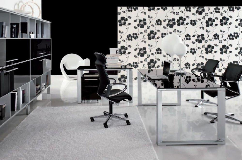 Scrivania Ufficio Piano In Vetro : Scrivania presidenziale vertigo piano vetro dv scrivanie