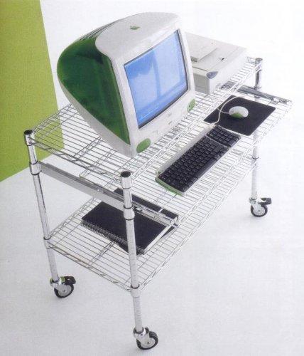 Carrello porta pc carrelli porta pc mobili per ufficio for Mobili per computer