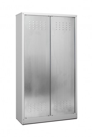 Armadi Per Scope Da Esterno.Armadi Metallici Da Esterno Alti Tipo Zincoverniciati Mod Porta