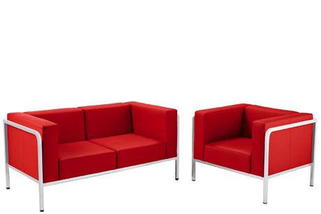 Poltrone e divano d 39 attesa mod zoom ds poltrone e for Divano ufficio