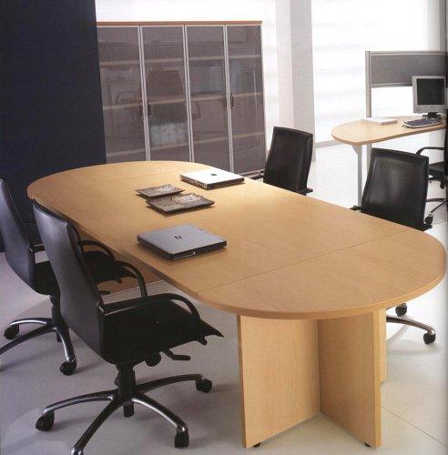 Tavolo riunioni ovale mod kompas dr tavoli riunione for Tavolo ovale ufficio