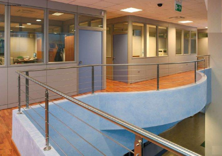 Pareti divosorie pannellate pareti divisorie mobili for Mobili metallici per ufficio