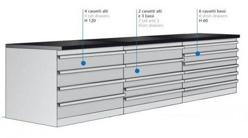 Vendita Cassettiere Per Officina.Banchi Metallici Per Officine Prodotti Appia Office Arredi