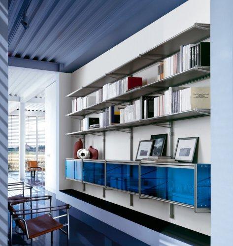 Libreria mod socrate parete profondit cm 45 for Cioccari arredamenti via appia