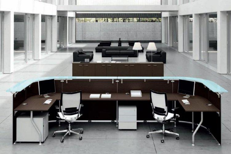 Reception abako dv banchi reception mobili per for Cioccari arredamenti via appia