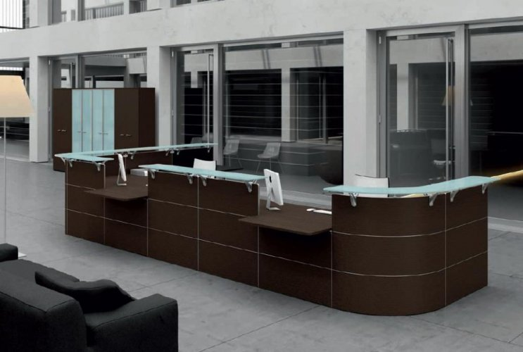 Reception abako dv banchi reception mobili per for Mobili ufficio reception