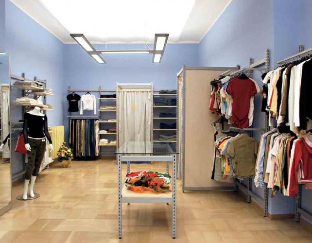 Attrezzature per cabine armadio prodotti appia office arredi negozi scaffali e armadi - Scaffali per cabine armadio ...