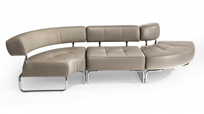 Divano mod block mi poltrone e divani per sale d for Divano ufficio