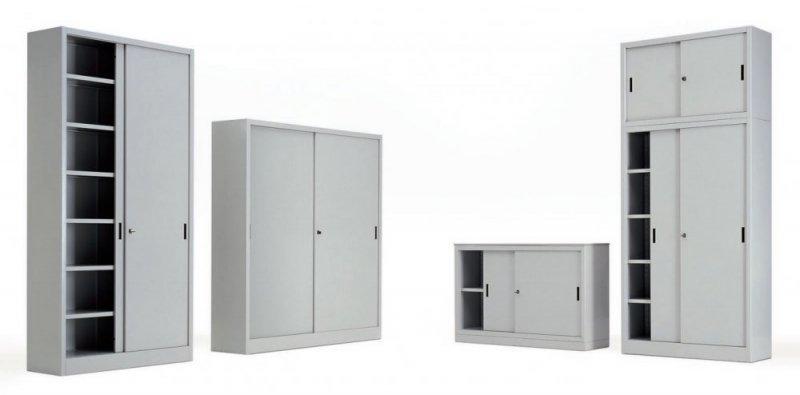 Armadi d 39 archivio prodotti appia office arredi for Armadi metallici per ufficio ante scorrevoli