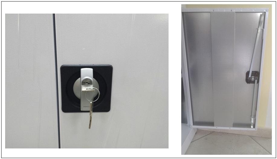 Armadi Per Ufficio Con Serratura : Armadi da balcone zincoplastificati prodotti appia office