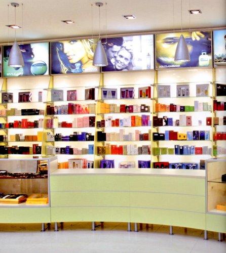 Profumeria prodotti appia office arredi negozi for Arredo profumeria
