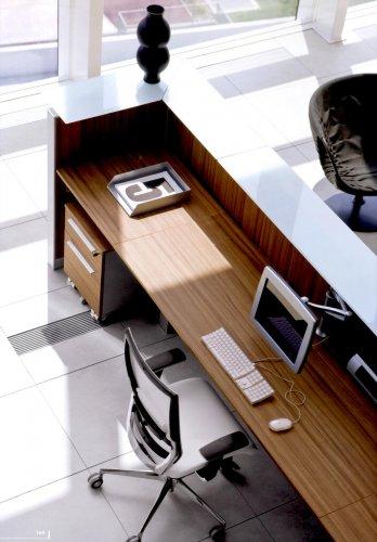 Reception led dv banchi reception mobili per ufficio for Cioccari arredamenti via appia