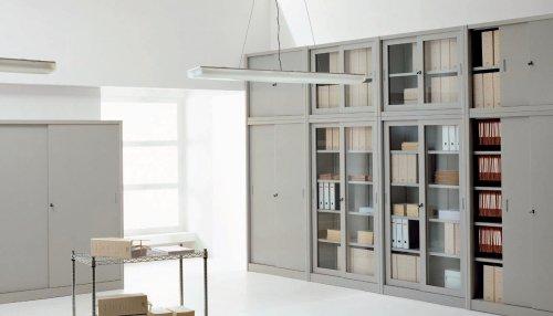 Armadi Archivio Ufficio Legno : Armadi darchivio bassi prodotti appia office arredi negozi